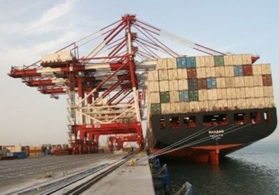 Iran's Largest Containership Docks at Southern Port