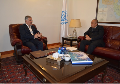 ECO Secretary General Receives Ambassador of..