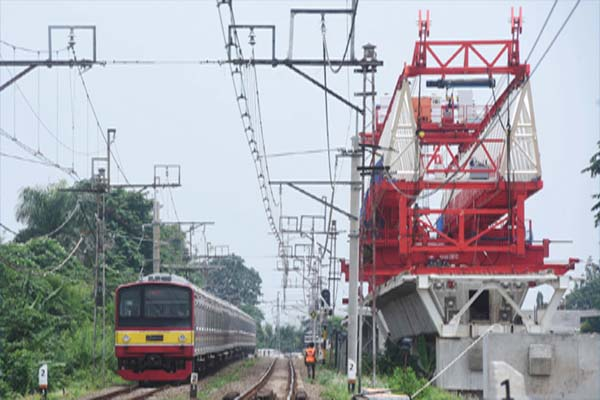 Commuter Trains in Greater Jakarta