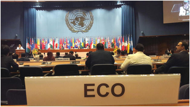 ECO Secretariat attended the Ministerial