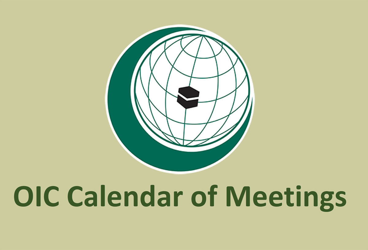 OIC Calendar of Meetins 2020