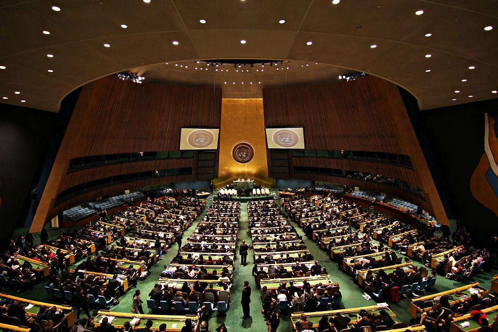 UN General Assembly Adopts