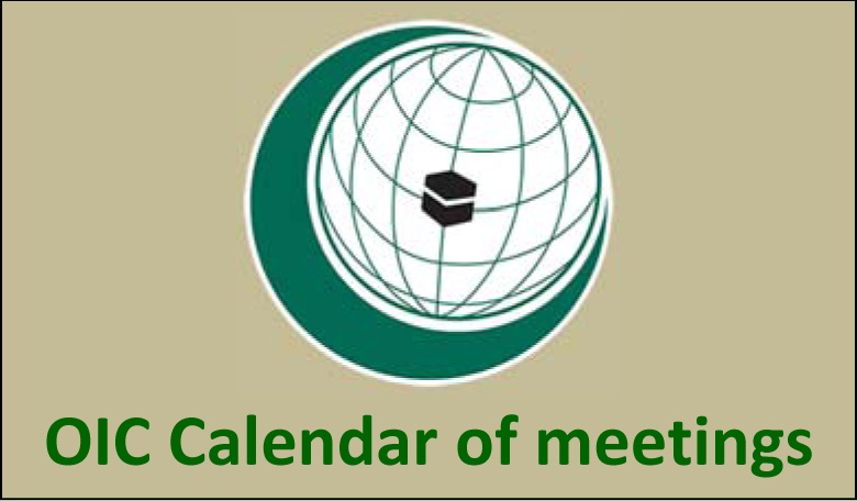 OIC Calendar of meetings 2